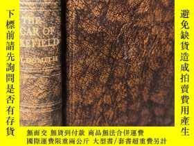 二手書博民逛書店THE罕見VICAR OF WAKEFIELD 威克菲德的牧師 GOLDSMITH 書頂刷粉 ODHAMS 出版