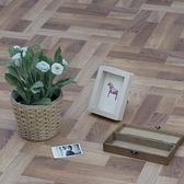 塑膠地磚12吋-深拼木-0.5坪