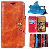 三星 A21s A31 M11 銅釦牛紋 手機皮套 插卡 支架 皮套 內軟殼 掀蓋殼