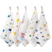寶寶口水巾 南極人寶寶口水巾純棉紗布小毛巾嬰兒洗臉六層超軟用的新生兒手帕 萌萌小寵