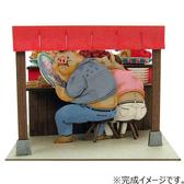 【拼圖總動員 PUZZLE STORY】父母變成豬了!   紙模型/立體紙雕/SANKEI/宮崎駿/神隱少女