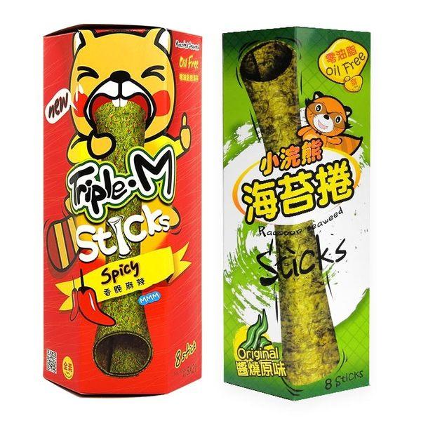 泰國 小浣熊 海苔捲 24g 進口/團購/零食/餅乾 ◆86小舖 ◆