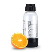 drinkmate氣泡水機專用0.5L水瓶(消光黑)-生活工場