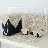 溫戀 棉麻電腦罩防塵罩臺式現代簡約液晶電腦保護套屏幕蓋布防塵聖誕交換禮物