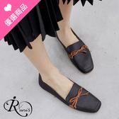 個性時尚皮帶裝飾設計樂福休閒鞋/2色/35-43碼 (RX0438-A21-2) iRurus 路絲時尚