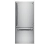 【得意家電】美國 GE 奇異 GBE21DSSS 下冷凍冰箱(不銹鋼)(715L) ※熱線07-7428010