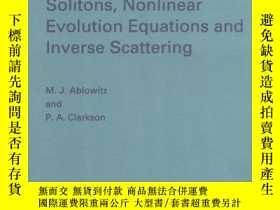 二手書博民逛書店Solitons,罕見Nonlinear Evolution Equations And Inverse Scat