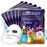 malie 膠原蛋白保濕彈性面膜10入-膠原蛋白 20ml