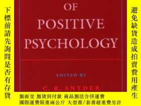 二手書博民逛書店Handbook罕見Of Positive PsychologyY364153 Snyder, C. R. (