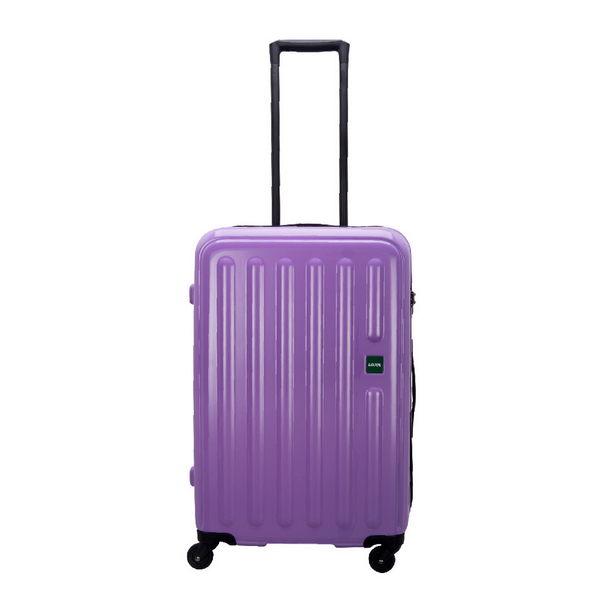 CROWN皇冠 LOJEL 27週年特賣款 硬殼拉鍊 登機箱/旅行箱20吋-紫色CF1563