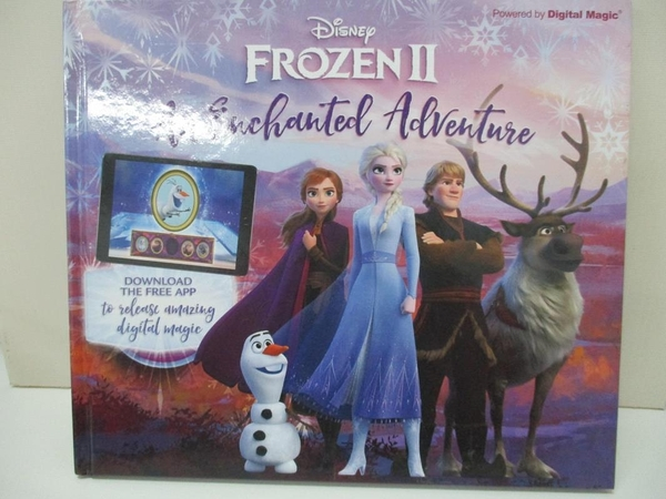 【書寶二手書T1/兒童文學_I5P】Frozen 2: An Enchanted Adventure_Emily Stead