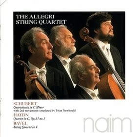 經典數位~阿雷格弦樂四重奏The Allegri Quartet- 舒伯特C小調 Schubert, Haydn, Ravel