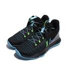 NIKE 男 籃球鞋 LEBRON WITNESS V EP 包覆 緩震 黑藍綠-CQ9381004