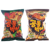 LOTTE 樂天 恐龍造型餅乾(50g) 兩款可選【小三美日】進口零食 / 團購 / 零嘴