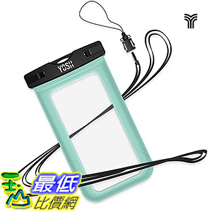 [106美國直購] 防水手機套 B018FQ4DY4 Universal Waterproof Case, YOSH Cell Phone Dry Bag Pouch iPhone 6S Plus