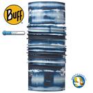 Buff Coolmax BF113628 海港藍暈 抗UV頭巾 ;蝴蝶魚戶外