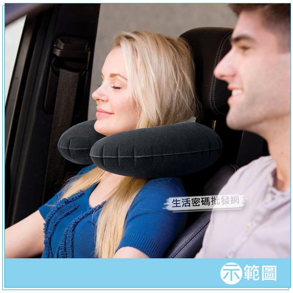 INTEX《軟QQ》植絨充氣護頸枕-2入組 15040020-02(68675)
