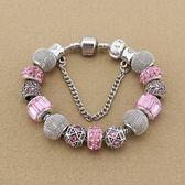 串珠手環-精美鑲鑽熱銷水晶飾品時尚女配件73kc399【時尚巴黎】