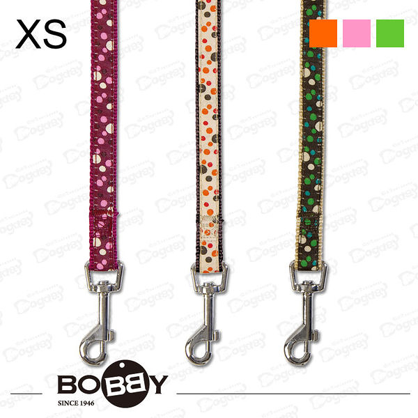《Bobby》法國娃娃織帶尼龍牽繩 100cm XS號