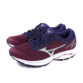 Mizuno WAVE RIDER TT 美津濃 跑鞋 運動鞋 紫紅色 女鞋 J1GD193239 no077