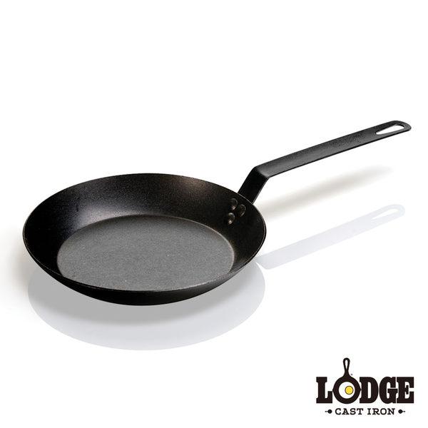 【美國Lodge】單柄碳鋼煎鍋 25公分/10吋