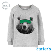 【美國 carter s】嘻哈熊熊長袖上衣-台灣總代理