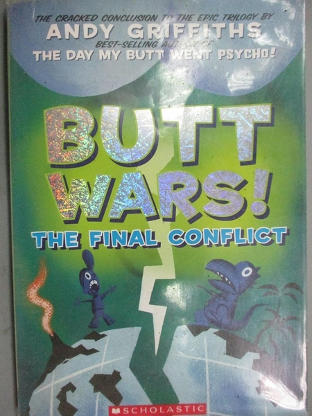 【書寶二手書T5/原文小說_HEI】Butt Wars_Andy Griffiths