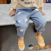 男童牛仔長褲秋裝寶寶休閒褲子韓版兒童長褲【淘嘟嘟】