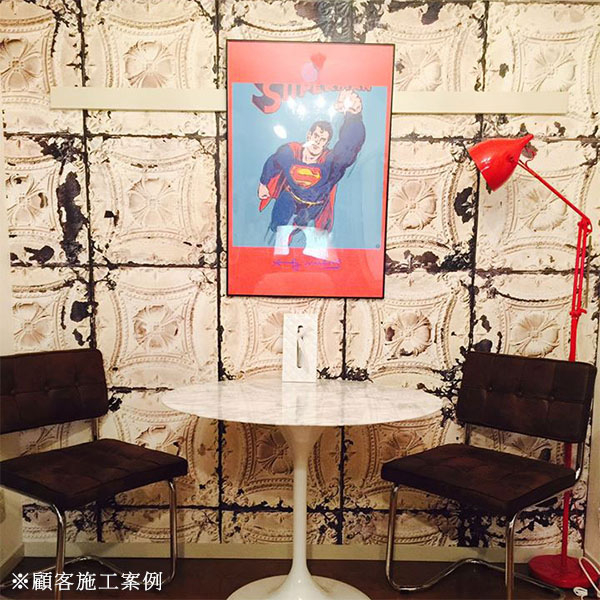 【進口牆紙】Brooklyn Tins by merci【訂貨單位48.7cm×10m/卷】荷蘭 仿真(fake) 磚紋 TIN-01
