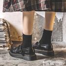 皮鞋 小皮鞋女學生學院風jk制服鞋軟妹日系復古平底韓版百搭瑪麗珍單鞋 【99免運】