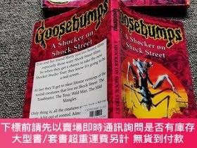 二手書博民逛書店Goosebumps罕見35 A Shocker on Shock Street (Goosebumps)Y2