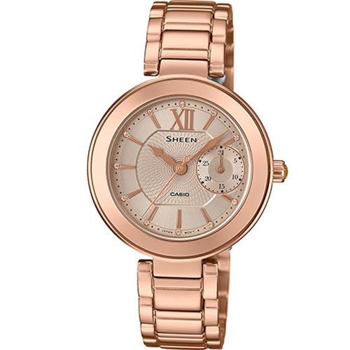 SHEEN 優雅耀眼時尚腕錶 SHE-3050PG-7A