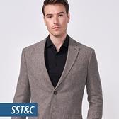 SST&C 男裝 灰色單西外套 | 0612010002