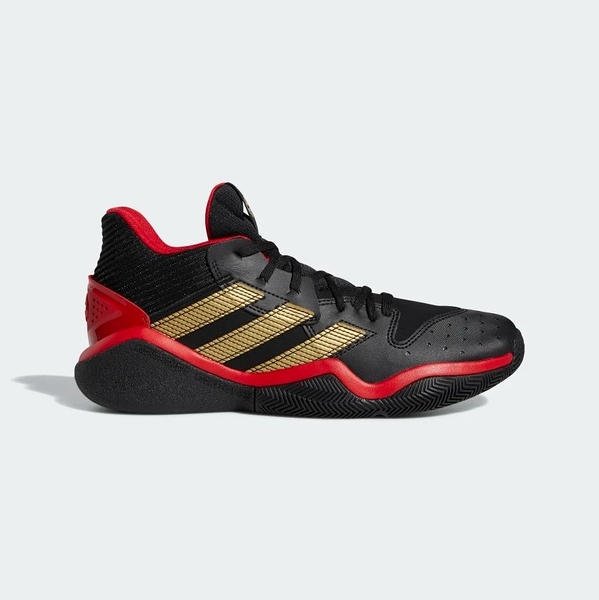 Adidas 男款黑紅金HARDEN STEPBACK籃球鞋-NO.EH1943