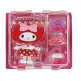 Sanrio 換裝娃娃組 擺飾玩偶 公仔 美樂蒂 草莓洋裝 粉