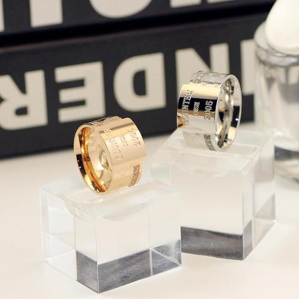 純銀戒指 戒指男潮人女時尚個性食指中指小眾設計飾品寬復古ins風情侶指環【萬聖節限時】