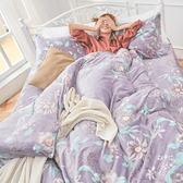 法蘭絨 / 單人【艾雪莉】含一件枕套  鋪棉床包薄被毯組  戀家小舖AAR115