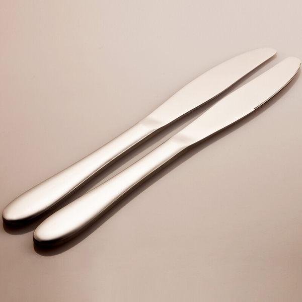 PUSH! 餐具用品不銹鋼牛排刀西餐刀西餐餐刀餐具10pcs E57