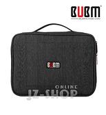 【滿490免運】BUBM電源線收納包 單眼 相機包 攝影包 防刮防潑水(特大)-黑(TBM-XL)