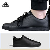 Adidas Advantage CL 男 全黑 運動鞋 滑板鞋 滑板鞋 皮革 經典復古網球鞋 工作鞋 愛迪達 F99253