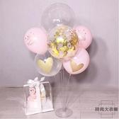 氣球支架生日派對婚慶裝飾立柱氣球套餐桌飄裝扮【時尚大衣櫥】