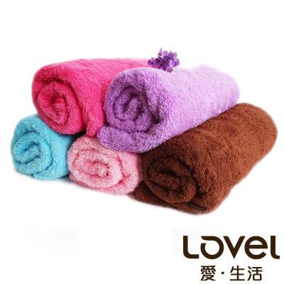 里和Riho LOVEL馬卡龍長絨毛纖維毛巾 33x73cm 5色可選 方巾 浴巾 MIT台灣製造