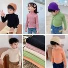 *╮小衣衫S13╭*兒童秋冬新款柔軟糖果色打底針織毛衣1080950