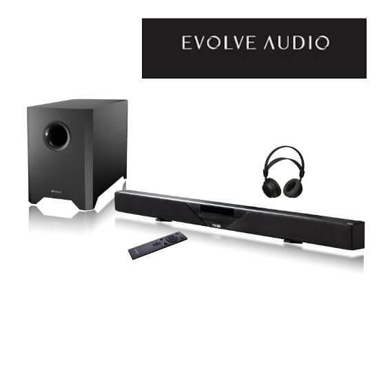 【南紡購物中心】EVOLVE SB-2600 audio Soundbar 藍芽音響 SB2600