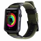適用iwatch1/2/3/4休閒蘋果手錶錶帶帆布尼龍【英賽德3C數碼館】