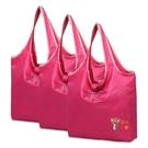 購物袋 定製logo可摺疊購物袋買菜包大容量超市環保手提袋便攜尼龍布結實 9色