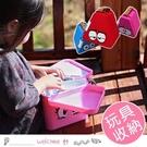 兒童便攜積木玩具收納盒 積木桌