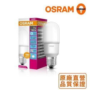 *歐司朗OSRAM*E14 7W迷你型LED燈泡_白光_5入組