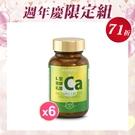 健康食妍 週年慶限定 離子植物鈣6入組【新高橋藥妝】