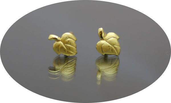 gold 黃金 耳環 金飾 保證卡 重量0.23錢 [ ge 048 ]